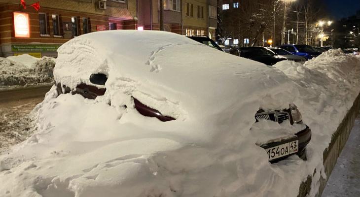 Только 11% кировчан довольны качеством уборки снега в городе
