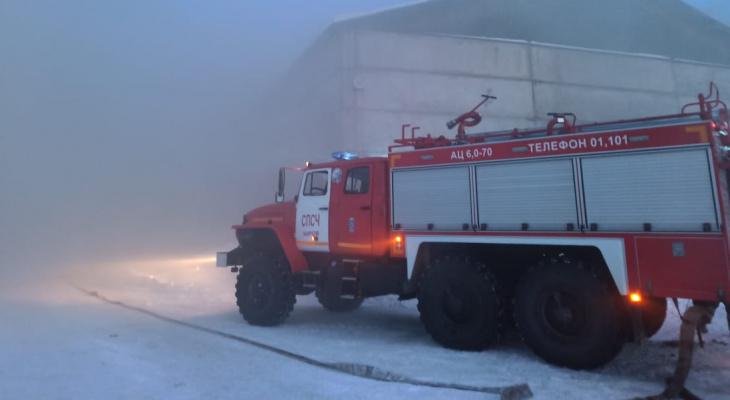 В Верхнекамском районе из-за короткого замыкания сгорел дом: есть погибший