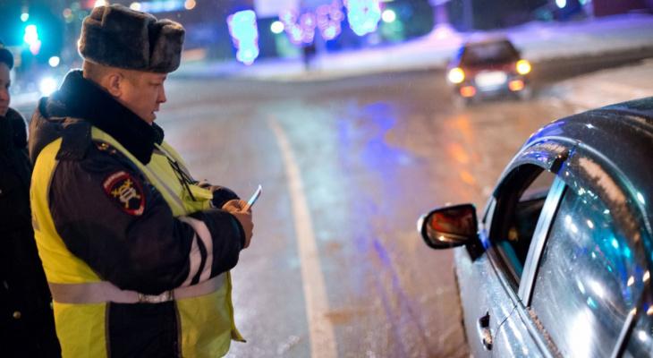 В Кировской области за выходные задержали 21 пьяного водителя