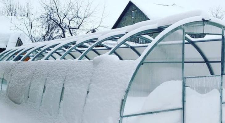 Какая теплица не рухнет под весом снега?