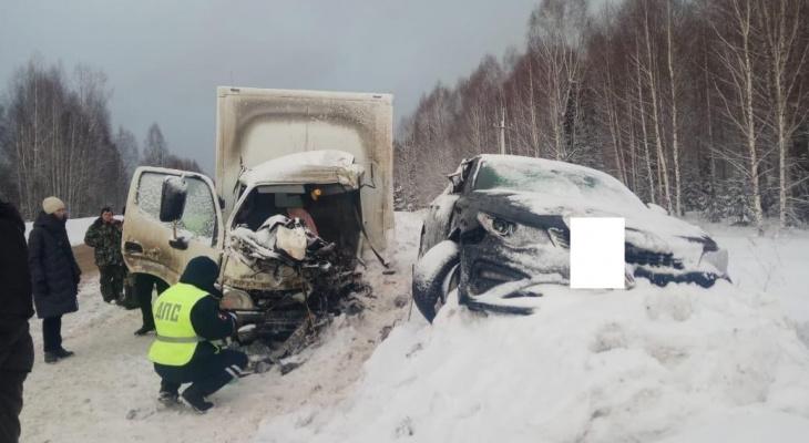 На трассе в Советском районе в массовом ДТП погиб мужчина