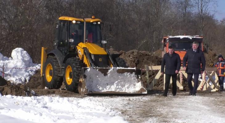 В Кирове началось строительство двух новых улиц