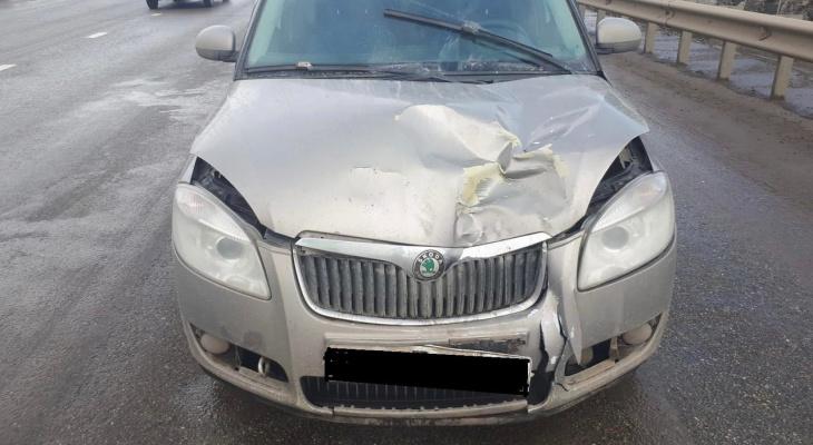 В Кирове водитель сбил двух женщин на пешеходном переходе