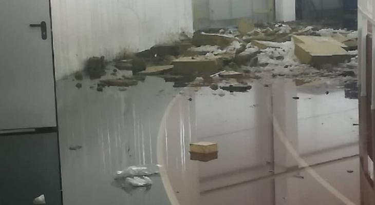 После обрушения кровли в спорткомплексе «Вересники» возбуждено уголовное дело