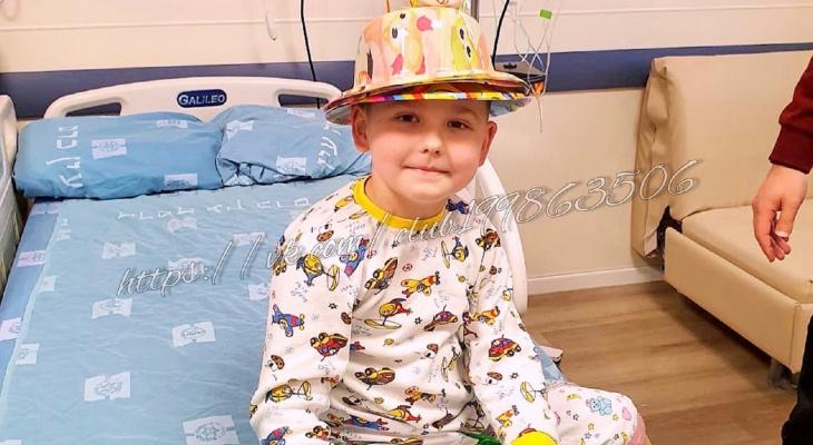 6-летнего Сашу из Вятских Полян выписали из клиники после пересадки костного мозга