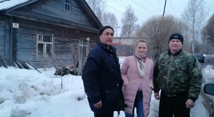Лесному отшельнику из Котельничского района нашли дом