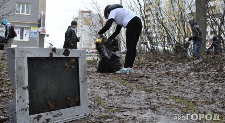 С 10 апреля в Кирове начинаются общегородские субботники