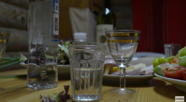 В Кировской области резко упало производство водки