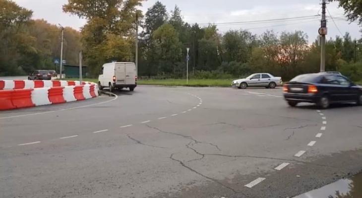 В Кирове на 4 перекрестках планируют сделать круговое движение