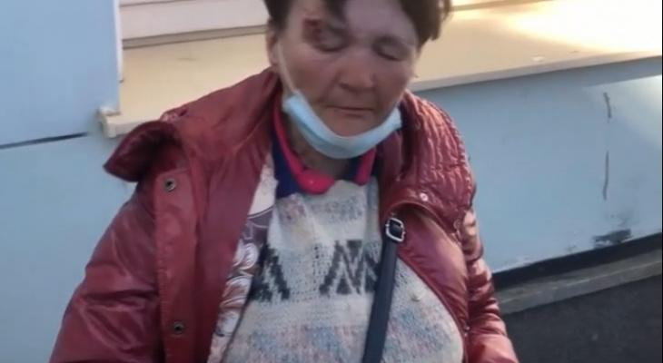 В Кирове на железнодорожном вокзале таксист жестоко избил бездомную женщину