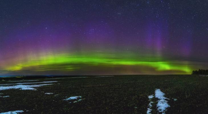 Жители Кировской области наблюдали уникальное природное явление