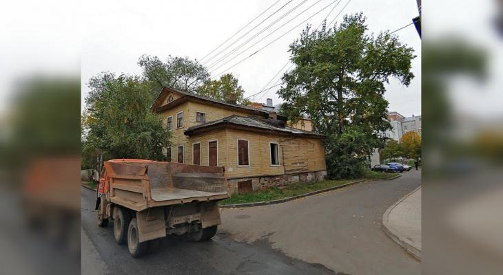 На месте горевшего дома на Казанской разобьют сквер