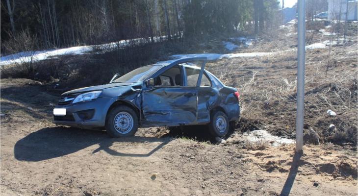 На трассе в Кировской области погиб мужчина