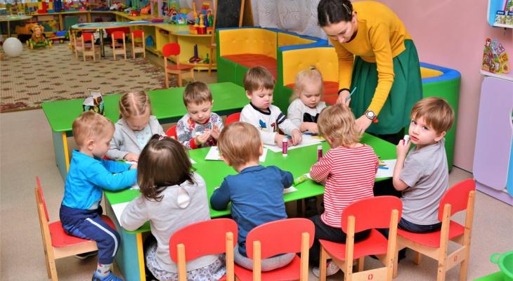 В Кирове создадут дежурные группы в детских садах на майские праздники