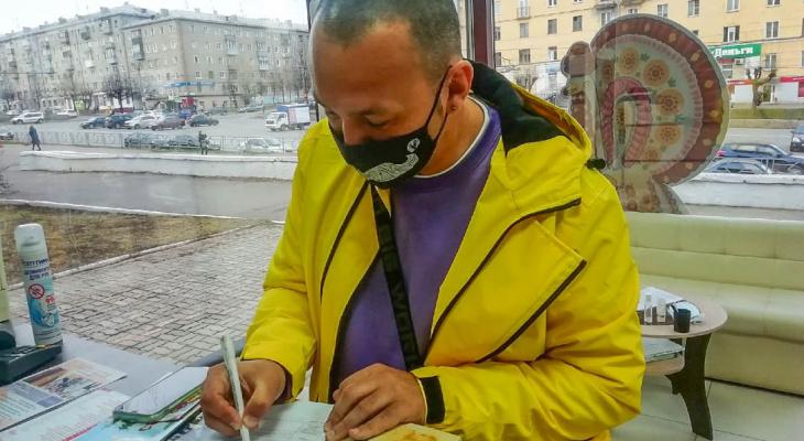 Объехавший 76 стран путешественник Паша Глобус провел бесплатную лекцию в Кирове