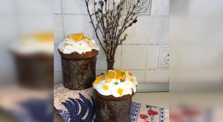 Вкусно и просто: кулинарный блогер из Кирова поделилась рецептом пасхального цитрусового кулича