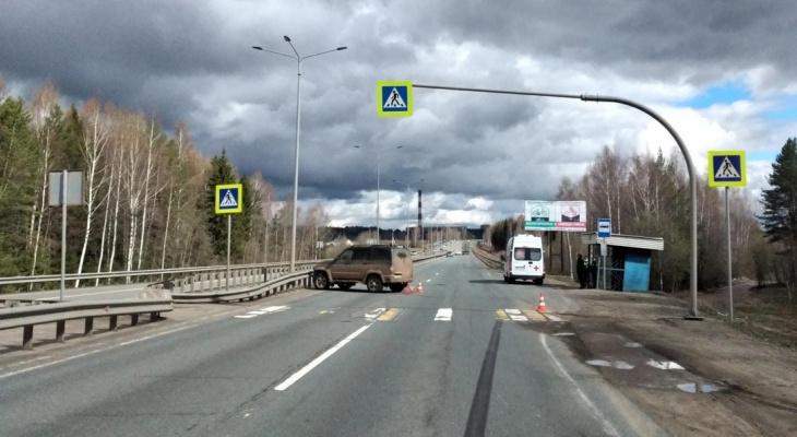 В Кировской области на трассе сбили 82-летнюю пенсионерку