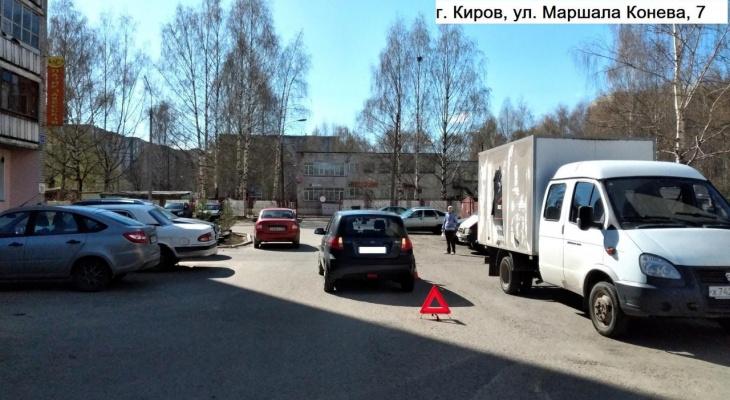 В Кирове иномарка сбила 9-летнего ребенка на велосипеде