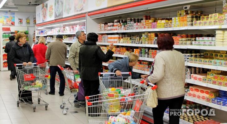 Известно, сколько денег потратили жители Кировской области на еду за год
