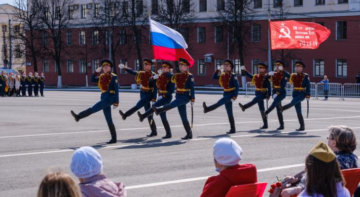 Киров отметил 76 годовщину Победы в Великой Отечественной войне