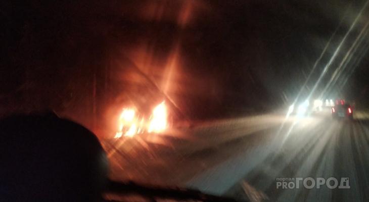 Машина полностью выгорела: в Кировской области раскрыли угон и поджог авто