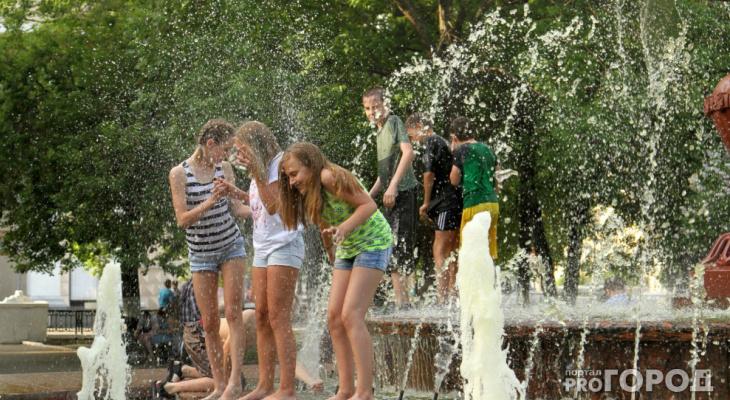 Известно, когда в Кировской области прекратится аномальная жара