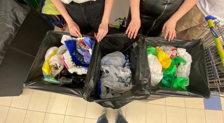 Кировчане обменяли полиэтиленовые пакеты на экологичные сумки-шоперы