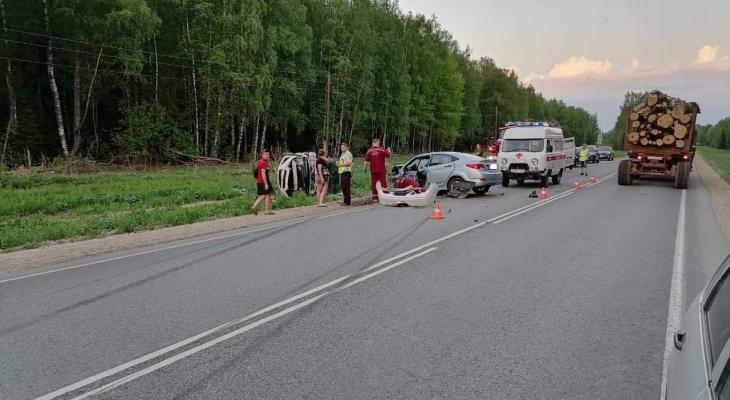 В Нолинском районе в ДТП погибли два человека