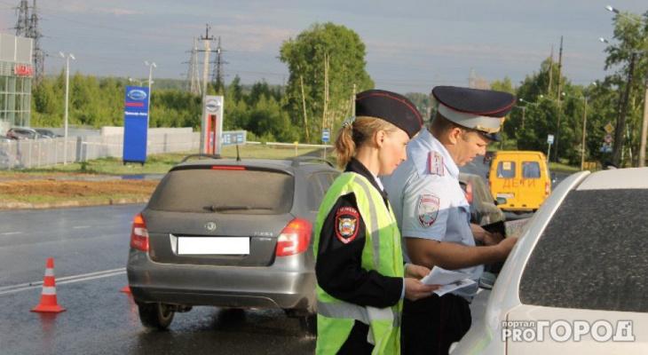 В Кирове полицейские стреляли по колесам авто под управлением бесправника