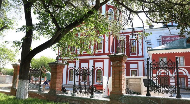 В Кирове благоустраивают Спасский собор