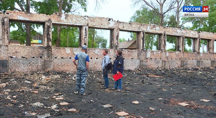 Эксперты оценят возможность восстановления сгоревшего спорткомплекса в Унях