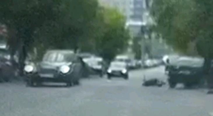 Появилось видео ДТП, в котором «девятка» сбила 8-летнего мальчика