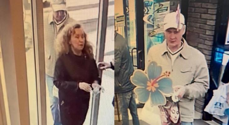 В Кирове ищут пару, подозреваемую в краже денег с чужой карты