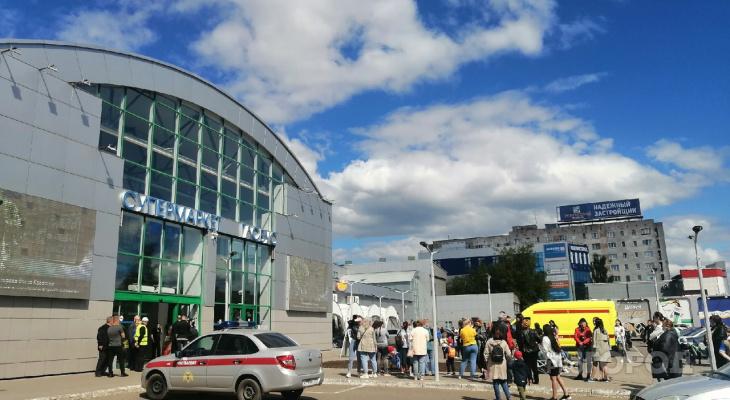 Из крупного ТЦ на улице Воровского эвакуировали всех посетителей