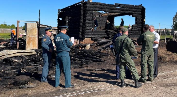 В Кировской области возбудили уголовное дело после смерти ребенка в пожаре