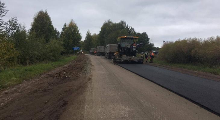 На участке Киров – Пасегово – Стрижи отремонтируют 10 километров дороги