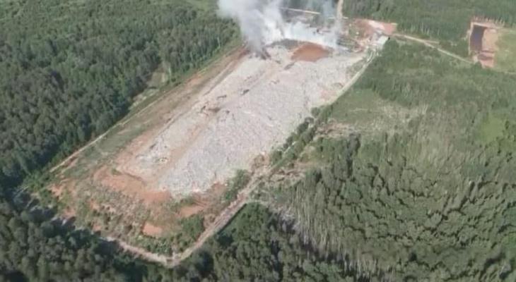 Известно, как пожар на свалке в Лубягино повлиял на состояние воздуха