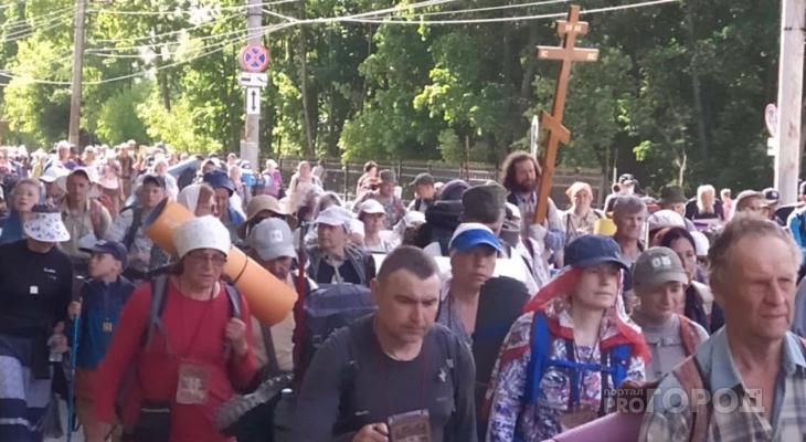Паломники Великорецкого крестного хода вернулись в Киров: как прошло шествие