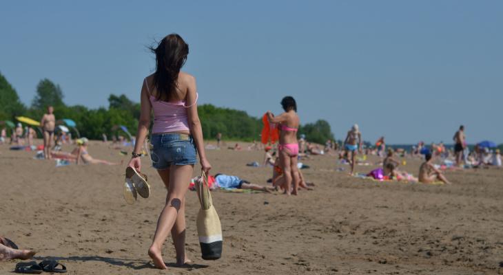 Городской пляж в Кирове откроют 15 июня