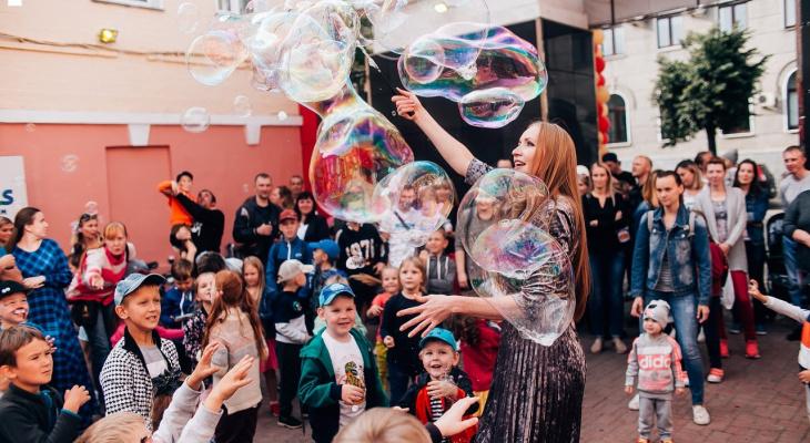 Кинотеатр «Смена» приглашает кировчан на детский праздник и шоу мыльных пузырей