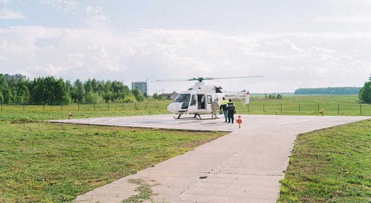 Санавиация Кировской области спасла жизнь 90-летней женщине