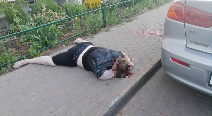 В Кирове на Заводской прохожие обнаружили тело человека в луже крови