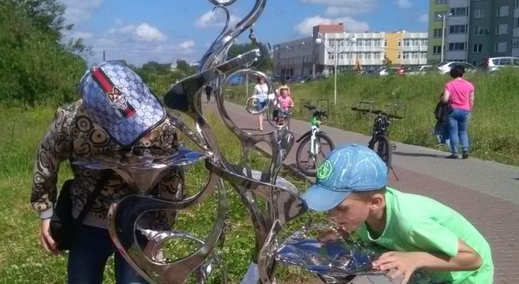 В Кирове с улиц исчезли питьевые фонтаны по требованию Роспотребнадзора
