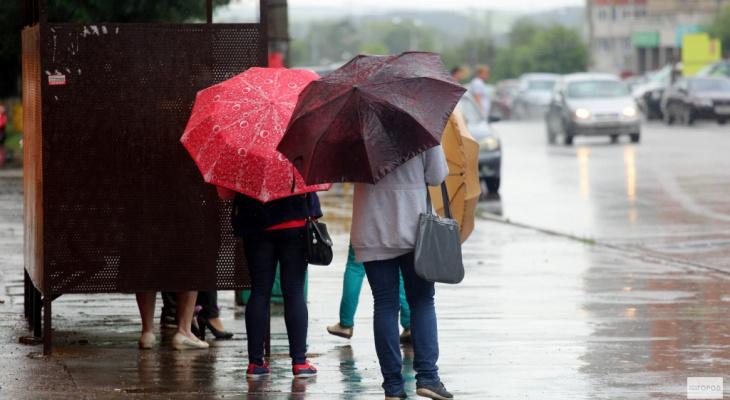 Крупный град и смерчи: известен прогноз погоды на неделю в Кировской области