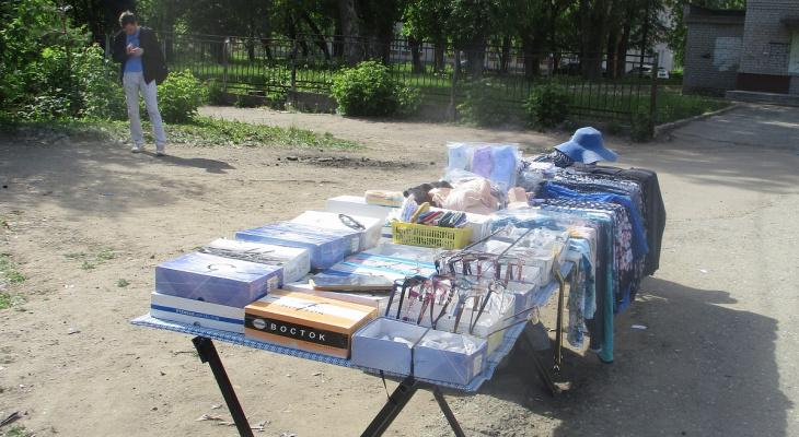 Кировчанам грозят штрафы за торговлю на улице