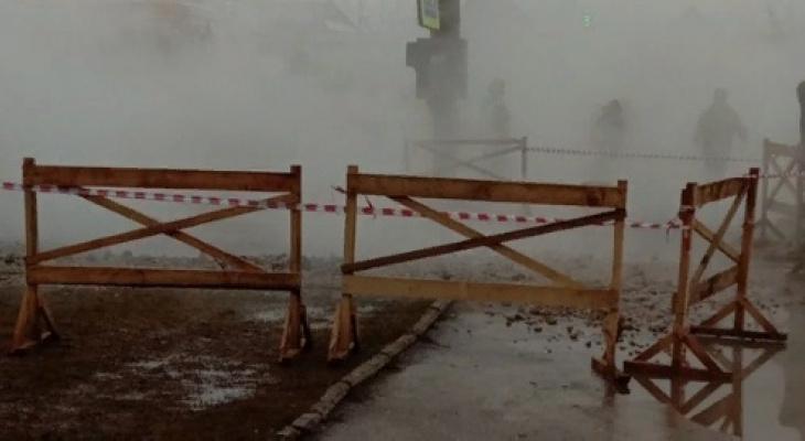 После падения 10-летней девочки в яму с кипятком в Кирове возбуждено уголовное дело