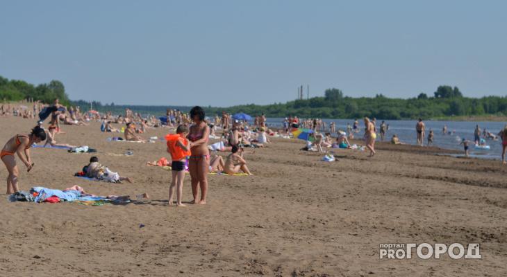 В Киров придет жара: прогноз погоды на выходные