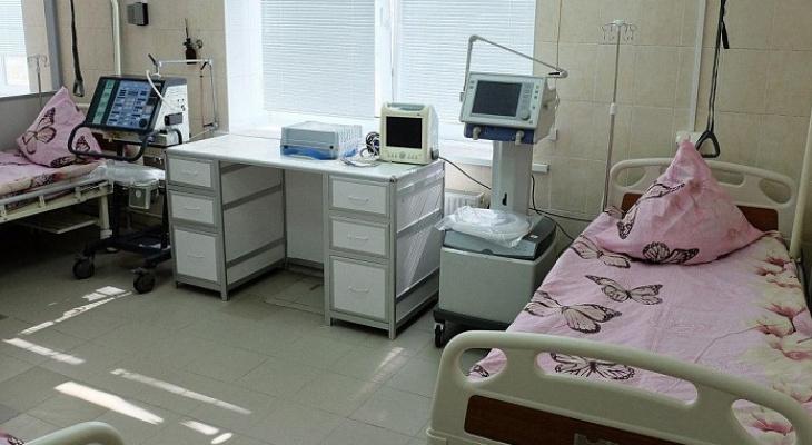 В Кировской области за три дня открыли 1000 коек для больных COVID-19