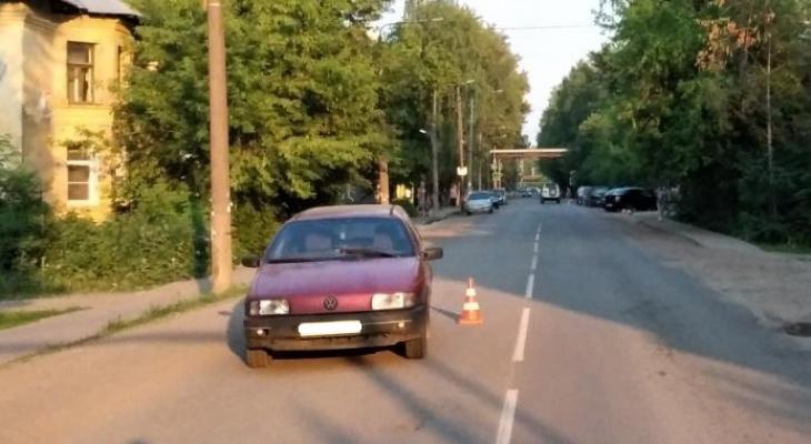 В Лянгасове мальчик попал под колеса Volkswagen Passat