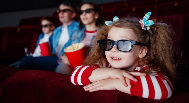 Для детей кино стоит 100 рублей